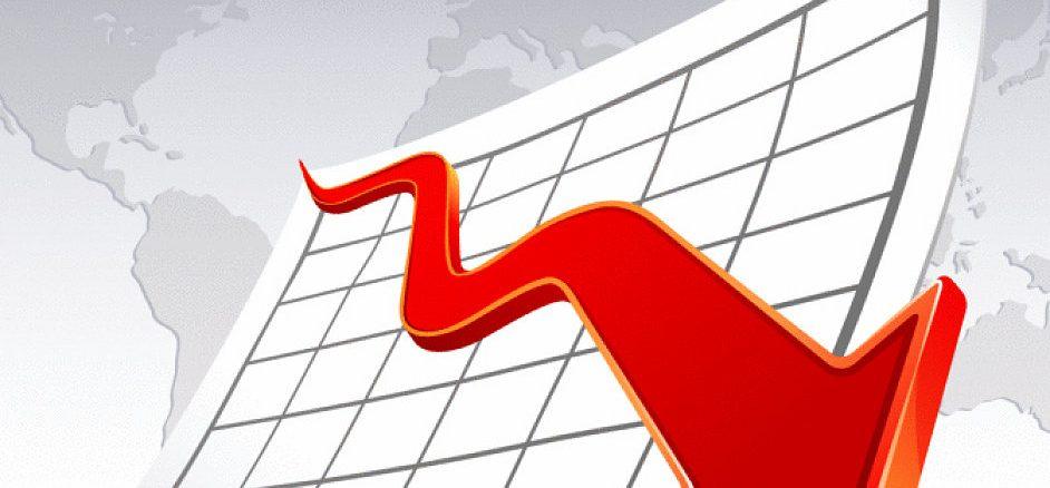 graf-akcie-pokles-propad